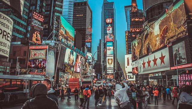 紐約時代廣場(Times Square)
