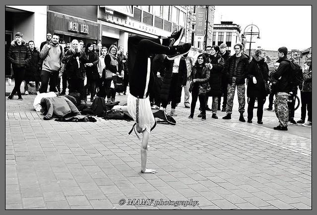 Street dancer.