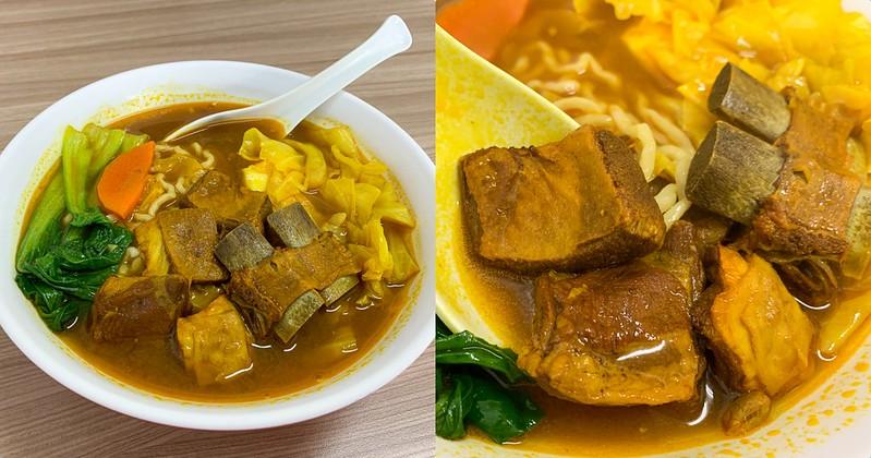 【台南美食】老楊滷味麵館 滷味專賣 超特別的薑黃羊肉麵!民生路上的低調新店!