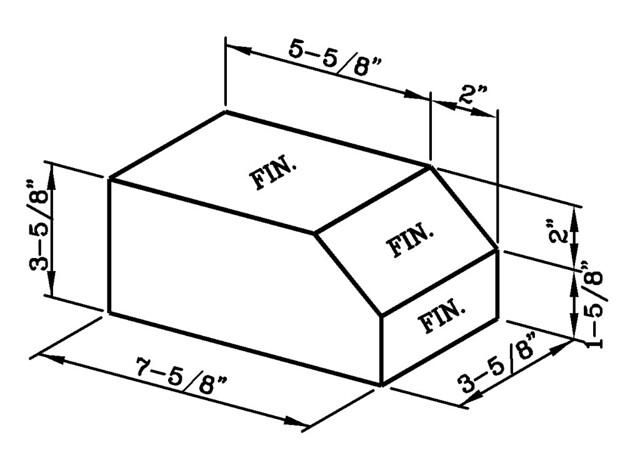 Sloped Rowlock Modular Economo