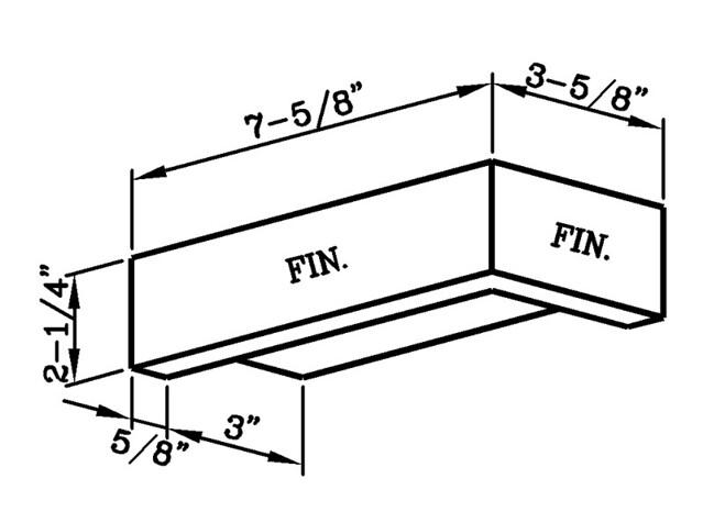 Lip Stretcher External Corner Modular