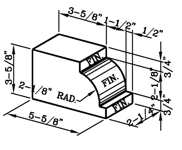 Watertable Rowlock Modular