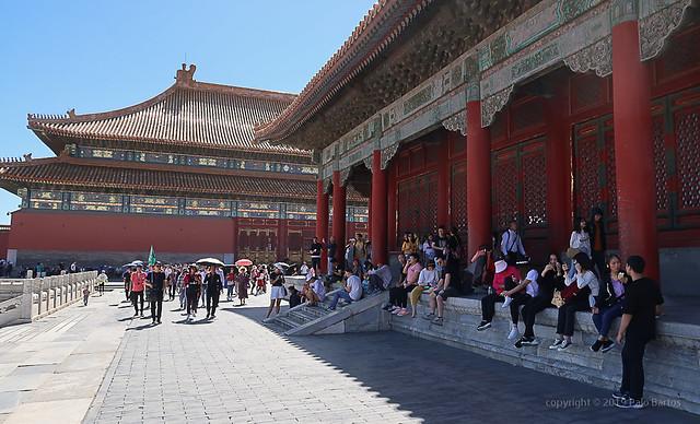 019Sep 18: Forbidden City Noon Sun Shade