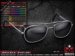 "= REBELLION = ""MAVERICK"" AVIATORS"