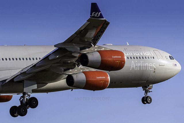 CPH / OY-KBD / Airbus A340-313X SAS Scandinavian Airline System