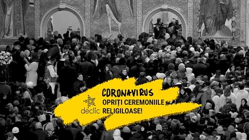 Coronavirus: opriți ceremoniile religioase!