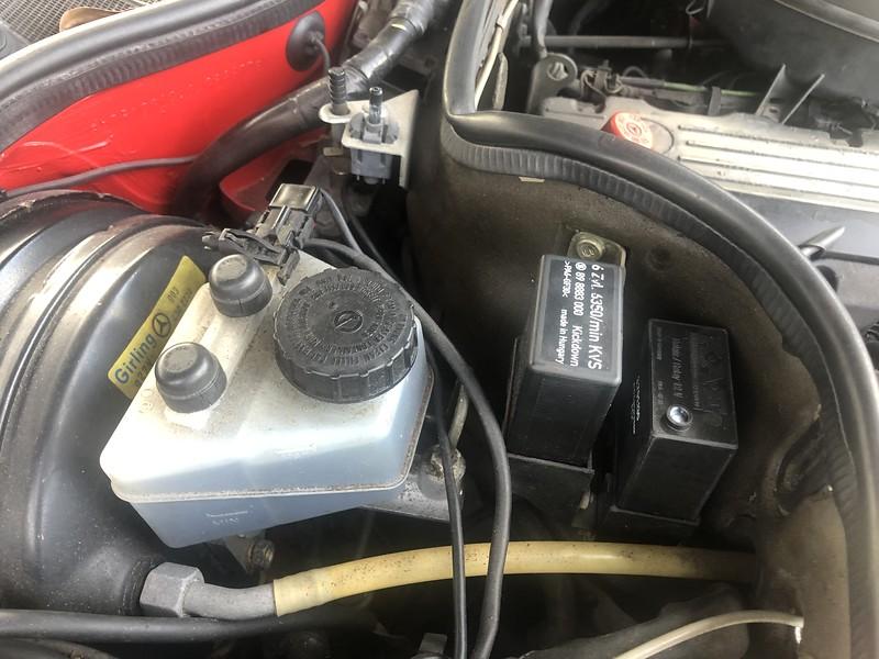 W126 Klima Relay