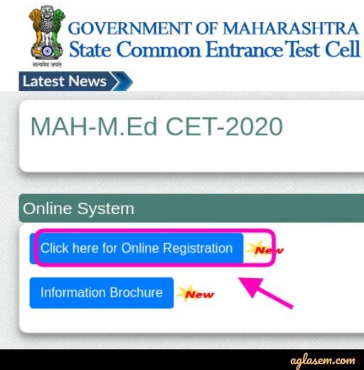 MAH M.Ed CET 2020