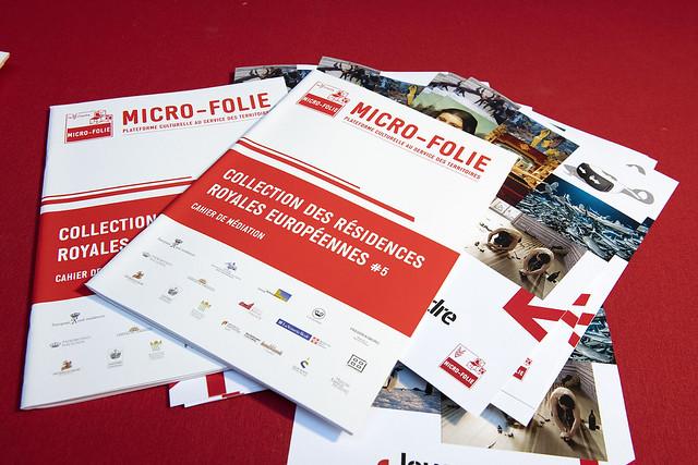 Micro-Folie, Collection des Résidences Royales Européennes