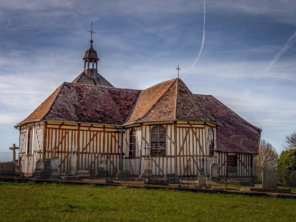 L'église de Mathaux dans l'Aube... 49669550238_257477b8ec_b