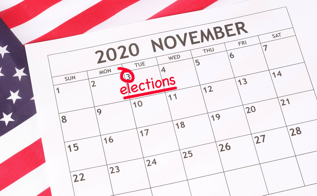 Date 3rd November 2020 marked in calendar with elections t… | Flickr