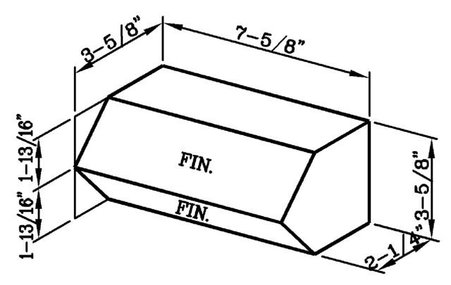Projected Stretcher Modular Economo