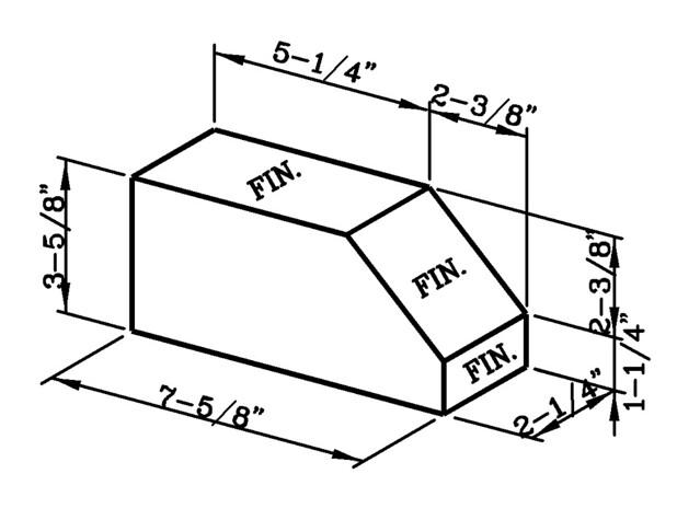 Sloped Rowlock Modular