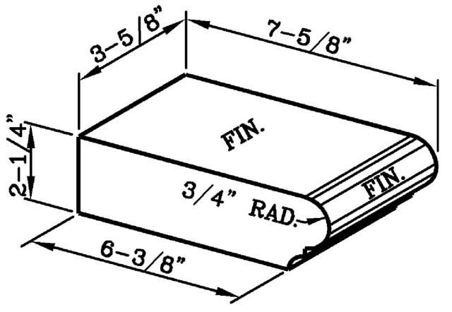 Bullnose Steptread Modular