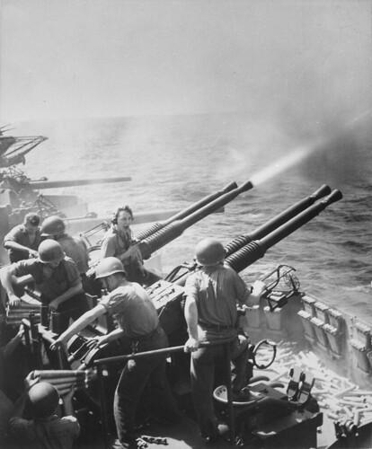 USS HORNET  16th February 1945