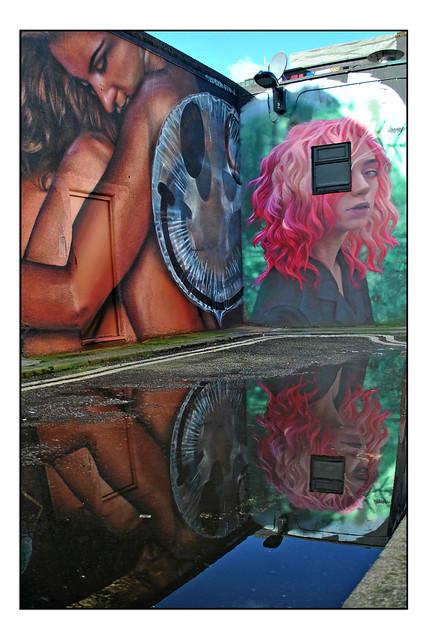 LONDON STREET ART by FANAKAPAN/VOYDER & IRONY
