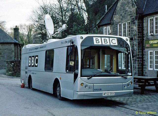 MF52DXA British Broadcasting Company BBC