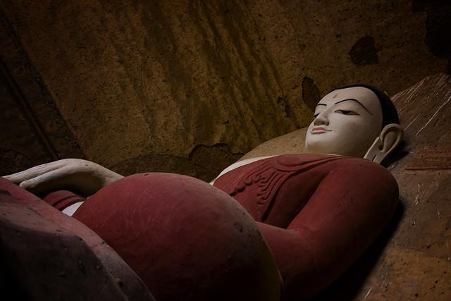 A Buddha In Bagan