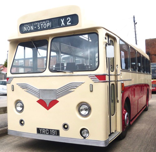 YRC 191 'Trent Motor Traction' No. 191. Leyland Tiger Cub / Alexander on Dennis Basford's railsroadsrunways.blogspot.co.uk'
