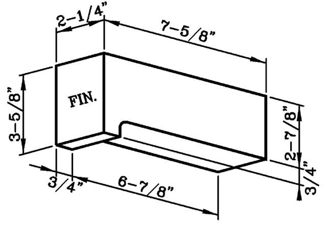 Lip Rowlock Modular
