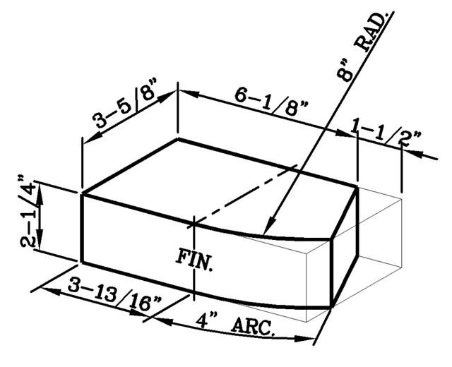 8 Inch Radius Radial Starter Modular