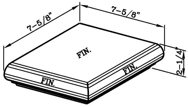 Bullnose Steptread External Corner Modular