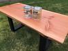 Fir slabs with Saicos Hardwax oil
