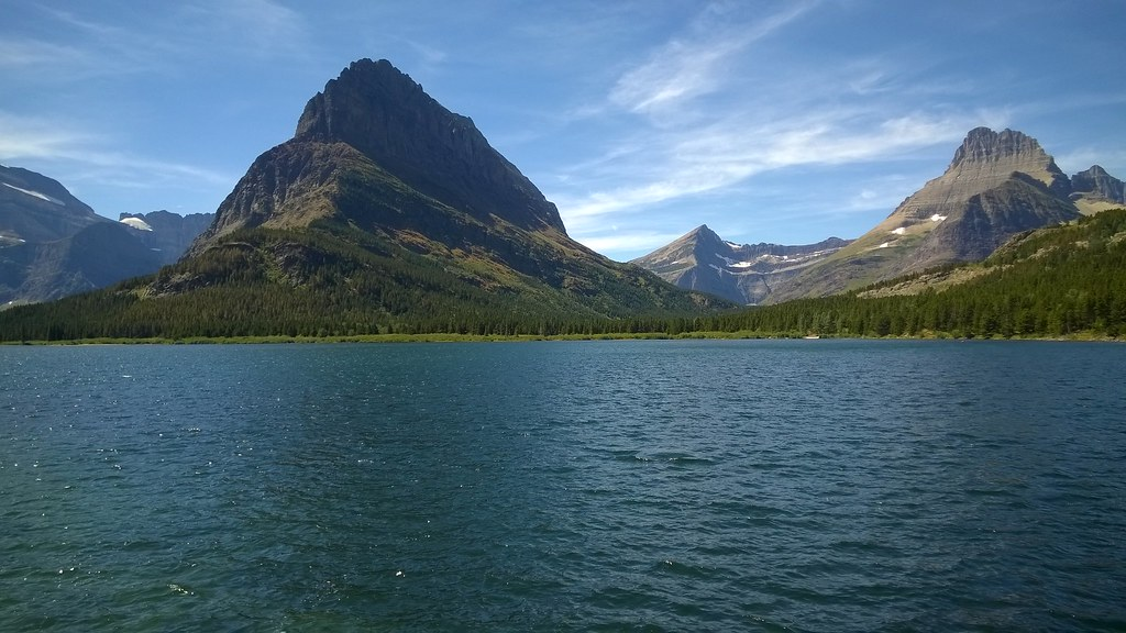 Grinnell Point, Mount Wilbur, and Swiftwater Lake, Glacier National Park  8/8/2015