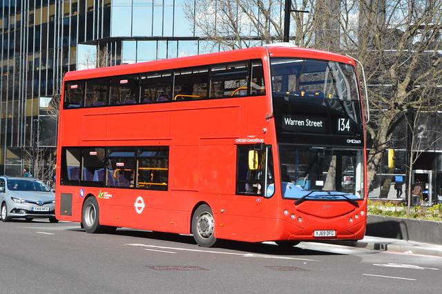 YJ69 DFG (OME2669) Metroline London