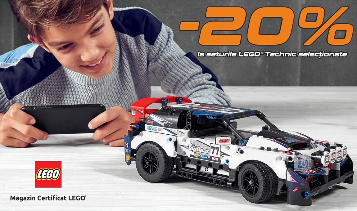 20% reducere la o selectie de seturi LEGO® Technic