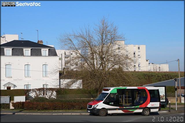 Dietrich Véhicules City 23 (Mercedes Sprinter) – Agglo'Bus Grand Guéret Mobilité
