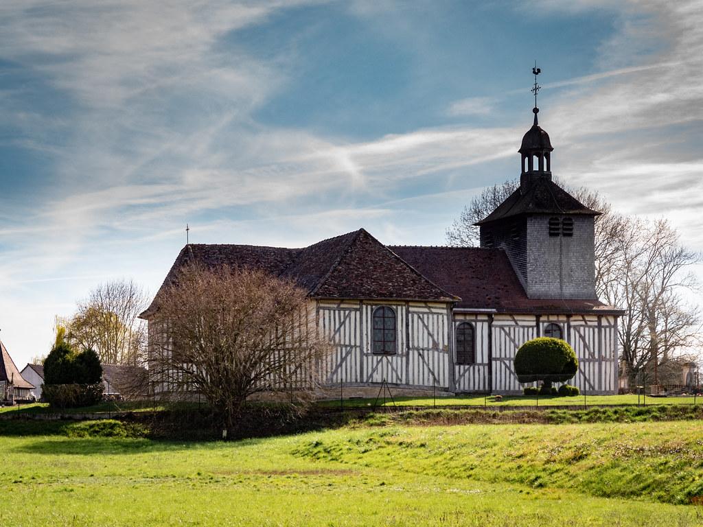 L'église de Mathaux dans l'Aube... 49670374112_6207dca258_b