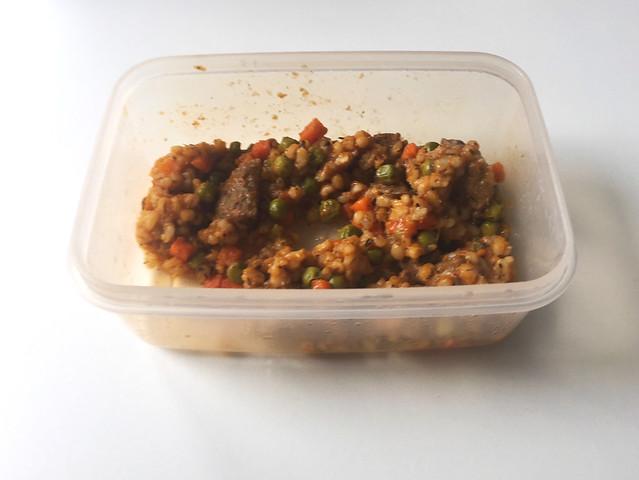 Beef pearl barley stew - Leftovers II / Rinder-Perlgraupeneintopf - Resteverbrauch II