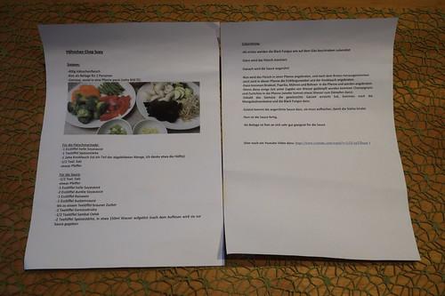 Hähnchen Chop Suey (Rezept)