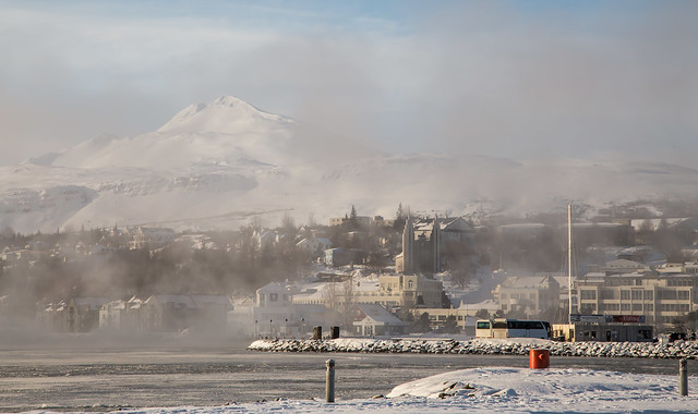 Akureyri - cold day