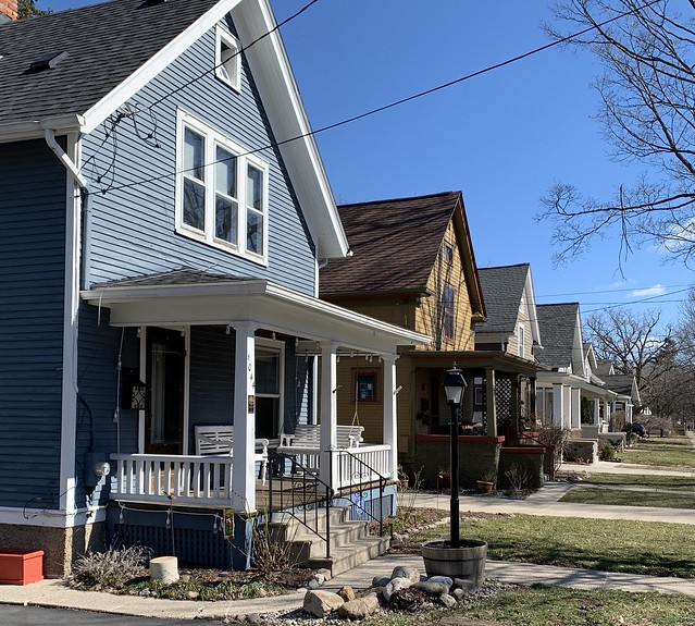 Porches, West Liberty Street, Ann Arbor