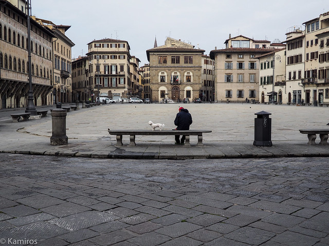 Panchina in S.Croce