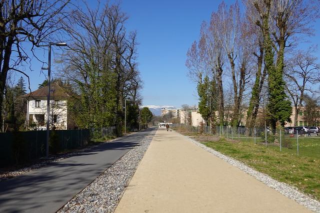 Voie Verte du Grand Genève @ Chêne-Bougeries @ Geneva