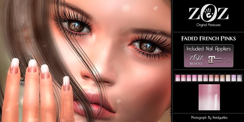 {ZOZ} Faded French Pinks pix