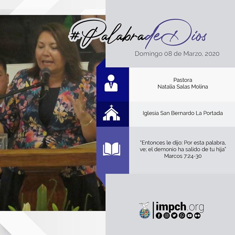 Palabra de Dios | domingo 08 de Marzo 2020