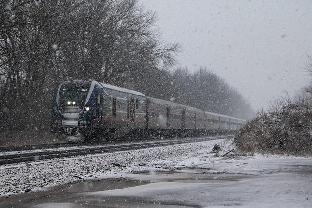 Amtrak 391 at Tuscola