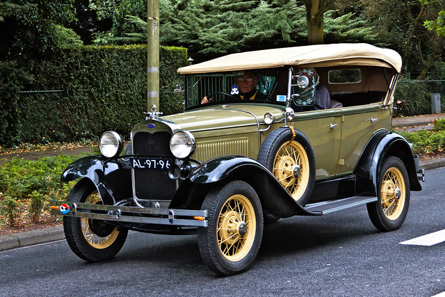 Ford Model A Phaeton 1930 (5434)