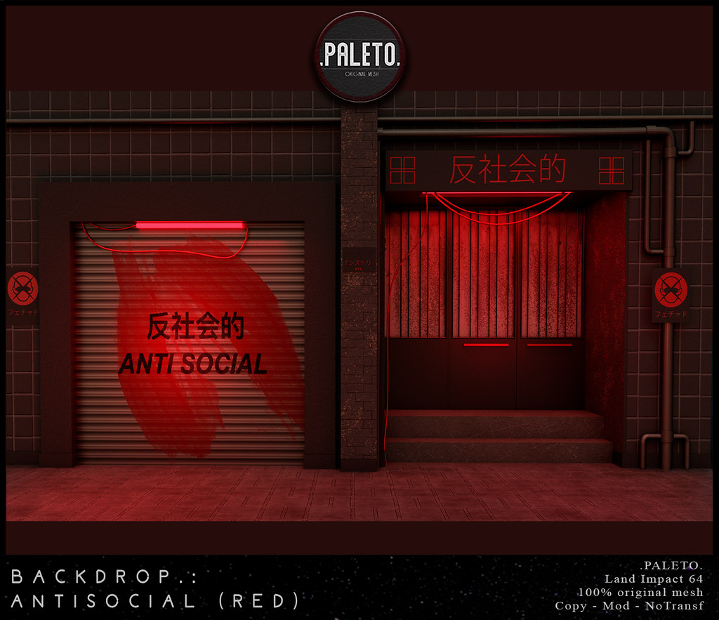 .Paleto.Backdrop:. Ansocial