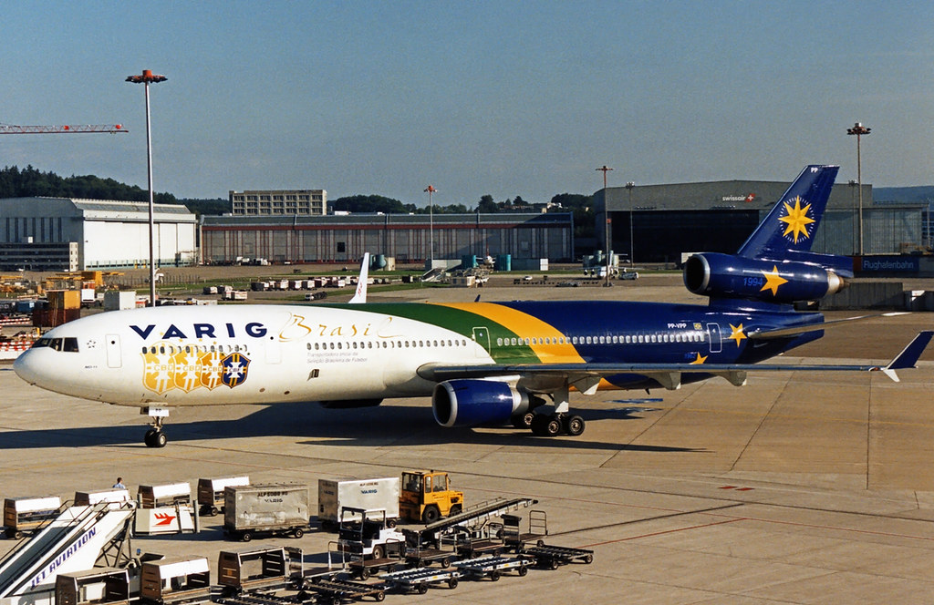 Varig MD-11 PP-VPP