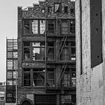 Parking Garage Brick Buildings