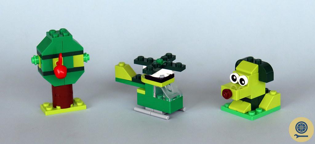 11007 Creative Green Bricks 1