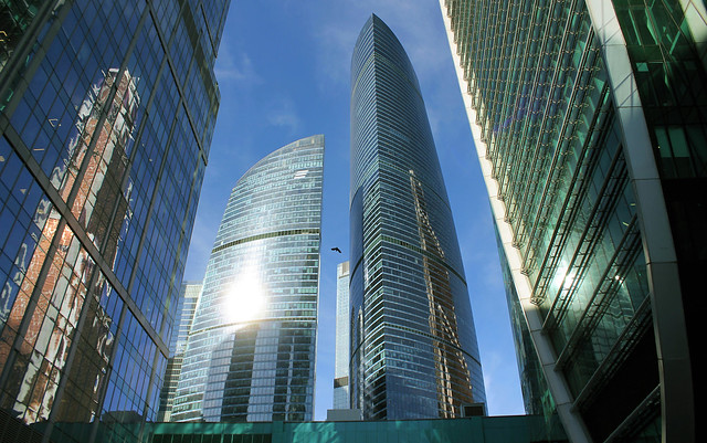 Russian Federation, Moscow Architecture.