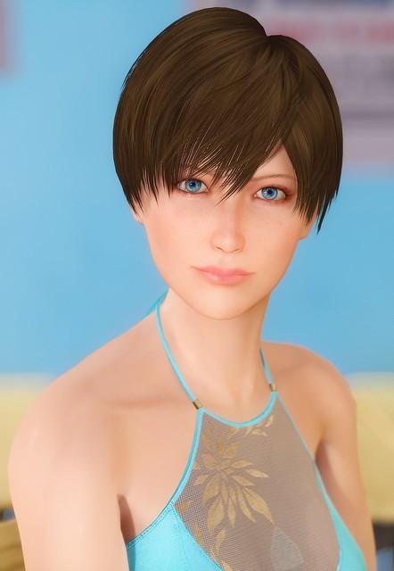 Rebecca Chambers in Skyrim