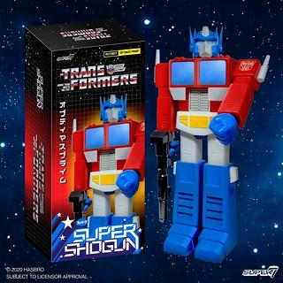 可以使出「噴射左拳」~! Super7 Super Shogun 系列《變形金剛》柯博文 Transformers Optimus Prime 24 吋人偶巨大登場!