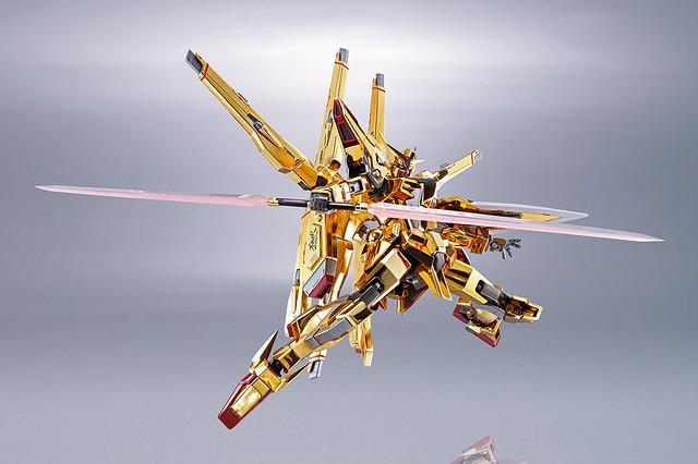 宇宙空間專用裝備出擊 METAL ROBOT魂《機動戰士鋼彈SEED DESTINY》ORB-01 曉鋼彈(不知火裝備)|アカツキガンダム(シラヌイ装備)